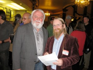 Peter Philips (L) & Mickey Huff