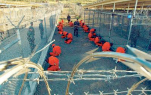 The U.S. prison in Guantanamo Bay. Current and former detainees have reported abuse and torture in this prison.