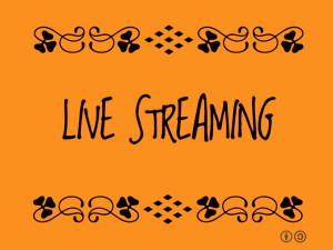 Live steaming Sign by Ron Mader #buzzwordbingo