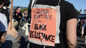 Martin Luther King Jr. March in Oakland, California.  Photo by Daniel Arauz