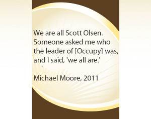 Micheal Moore quote
