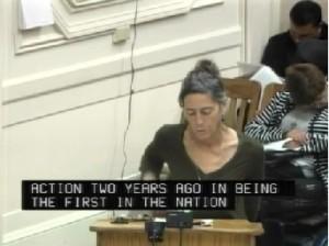 Sharon Adams at Berkeley City Council