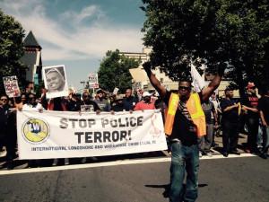 Protest Police Terror